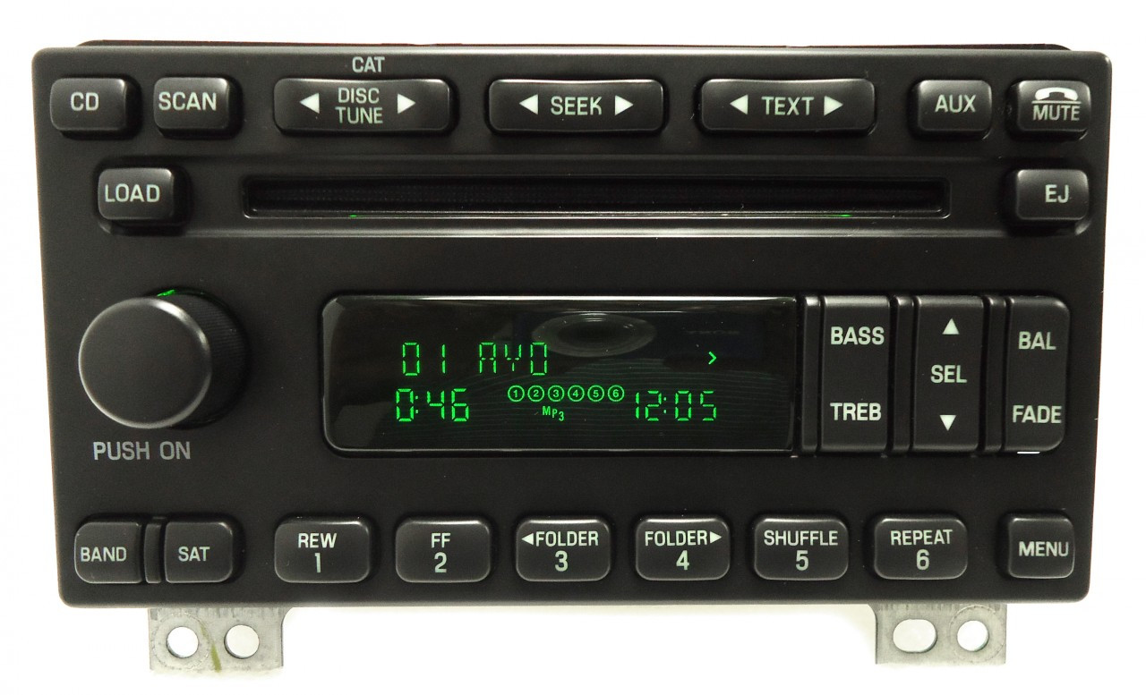Ford Explorer Expedition Mustang Mercury Mountaineer Radio
