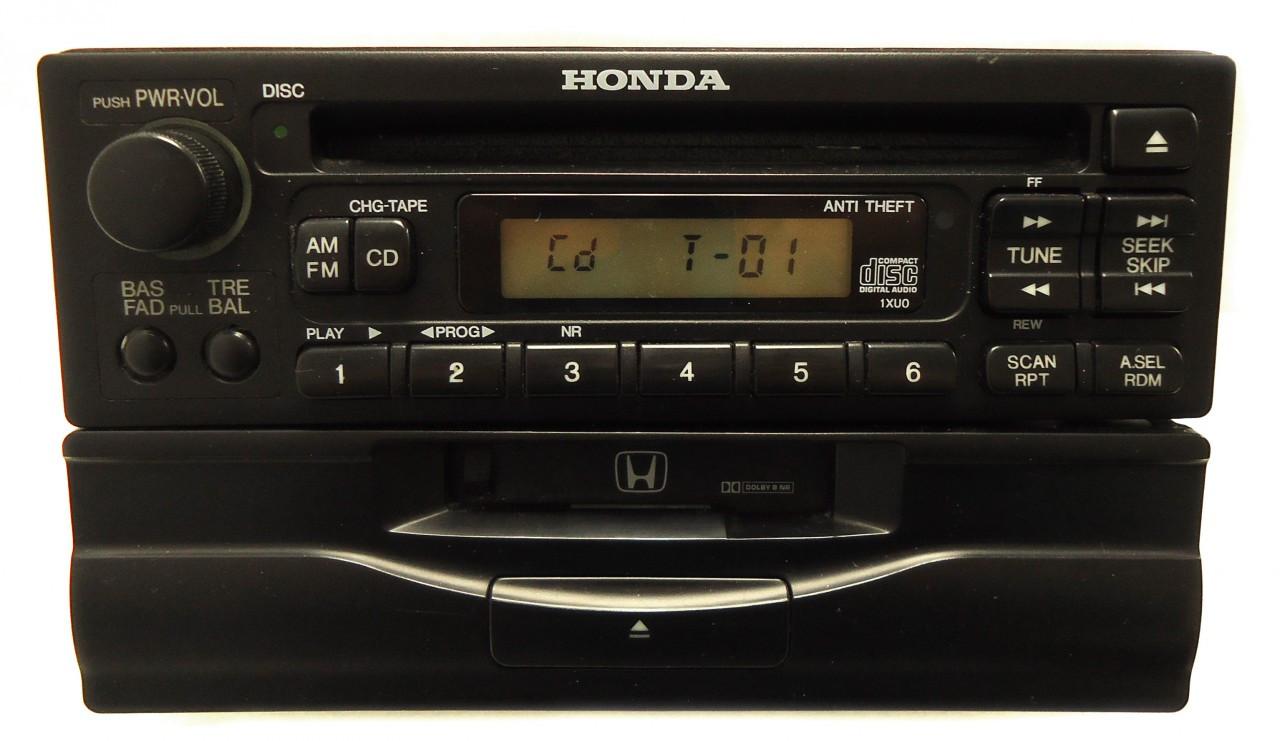 2001 Honda Accord Radio Code >> Honda Civic Accord Prelude Odyssey Radio CD Cassette Player