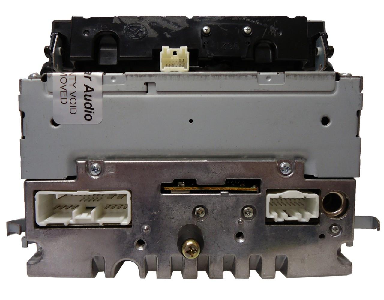 2006 2007 Mazda 3 Satellite Radio Stereo Tape Player Cd Player