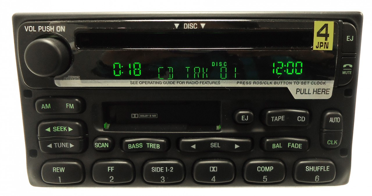 2001 ford expedition radio replacement