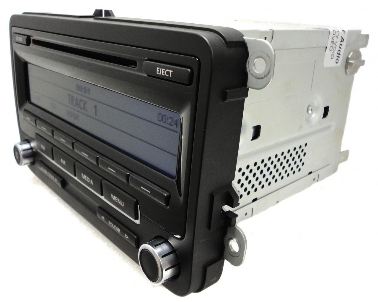 VW VOLKSWAGEN Jetta Passat Golf EOS CC GTI Tiguan Beetle AM FM Radio Stereo  MP3 CD Player Bluetooth 1K0 035 164 A 2010 2011 2012 2013 OEM