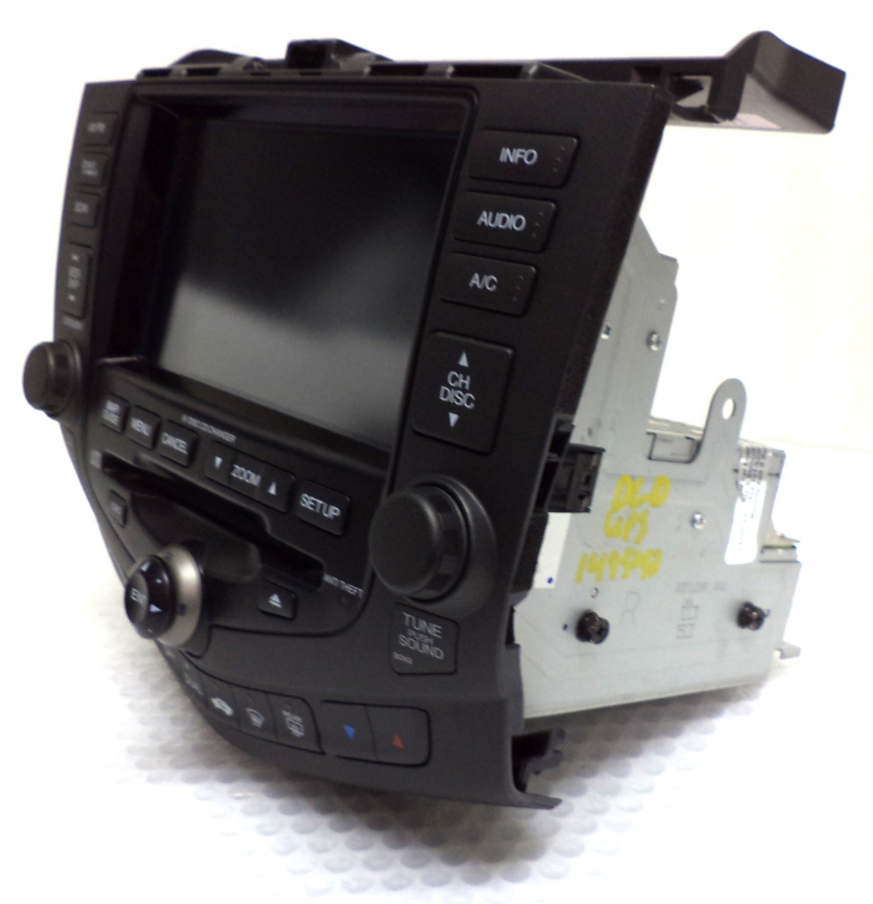 HONDA Accord Hybrid Navigation GPS System LCD Display Screen Monitor 6 Disc  Changer CD Player 2CK2 2005 39051-SDR-A410-M1 39175SDRA41 39183SDRA41ZA