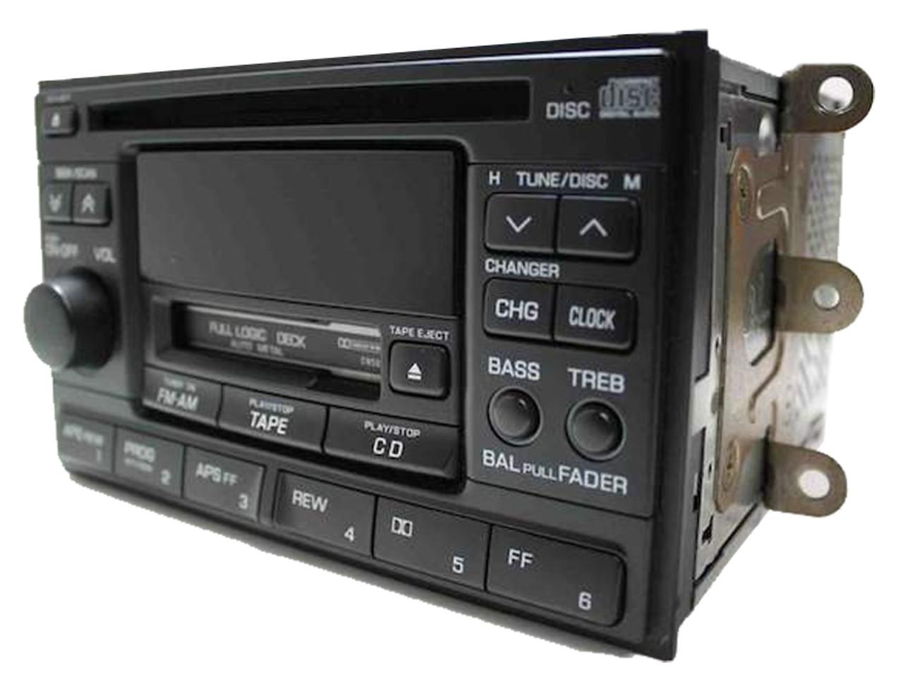 1995 1999 2001 Nissan 200sx Xterra Altima Radio Cd Playerrhcd4car: 2002 Nissan Xterra Radio Cd Player At Gmaili.net