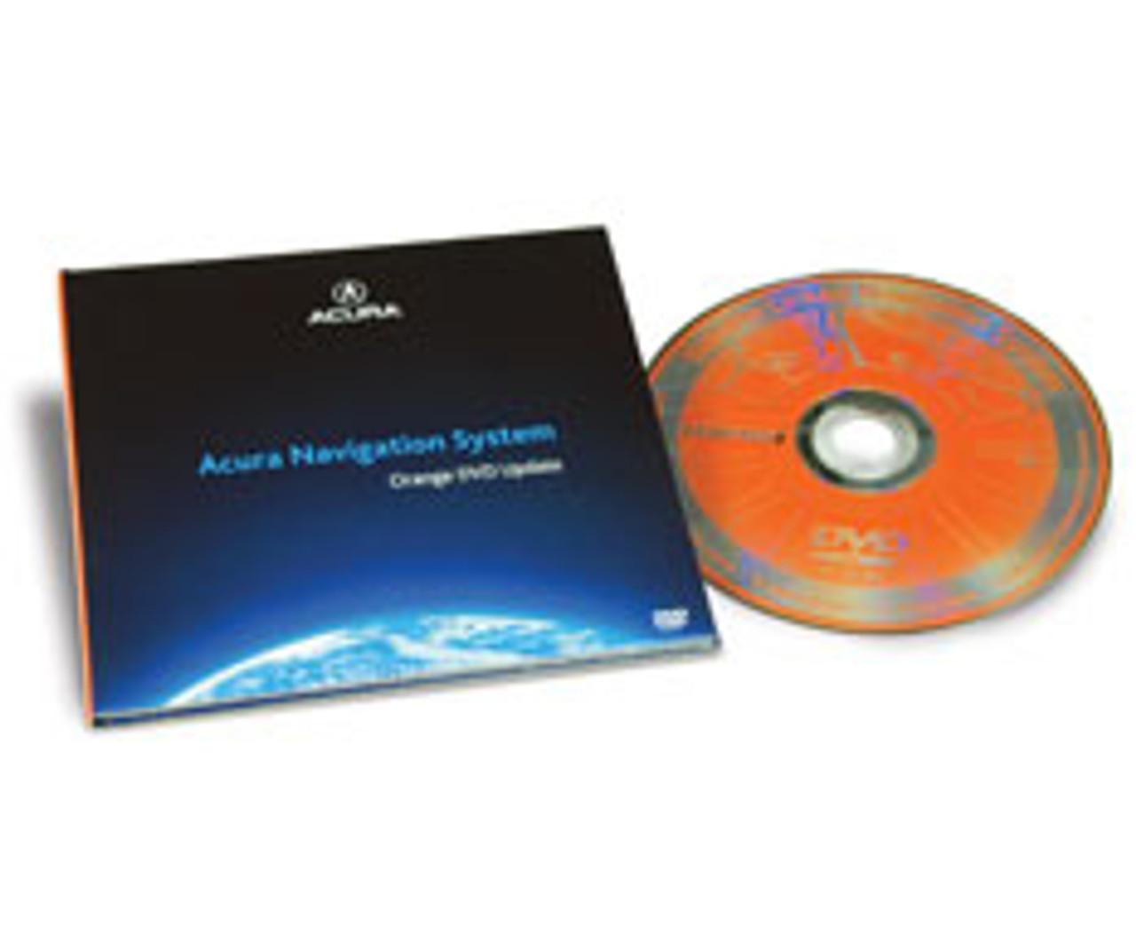Acura TL TSX MDX RL Honda ACCORD Navigation Disc Disk 3 D0 Orange GPS  Satellite 2014 Nav Maps 03 04 05 06