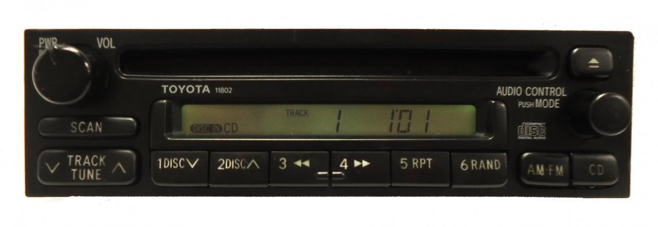 11802 8612008040 199004 Toyota Mr2 Rav4 Radio Cd Playerrhcd4car: Toyota Mr2 Radio At Gmaili.net