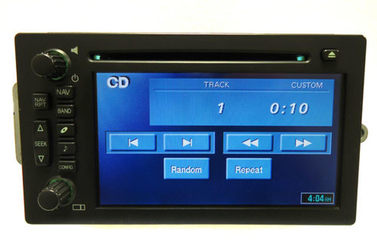 GMC CHEVY Navigation GPS Radio Stereo Display Screen OEM
