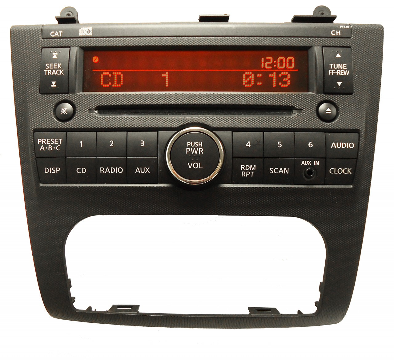 2007 nissan altima radio not working
