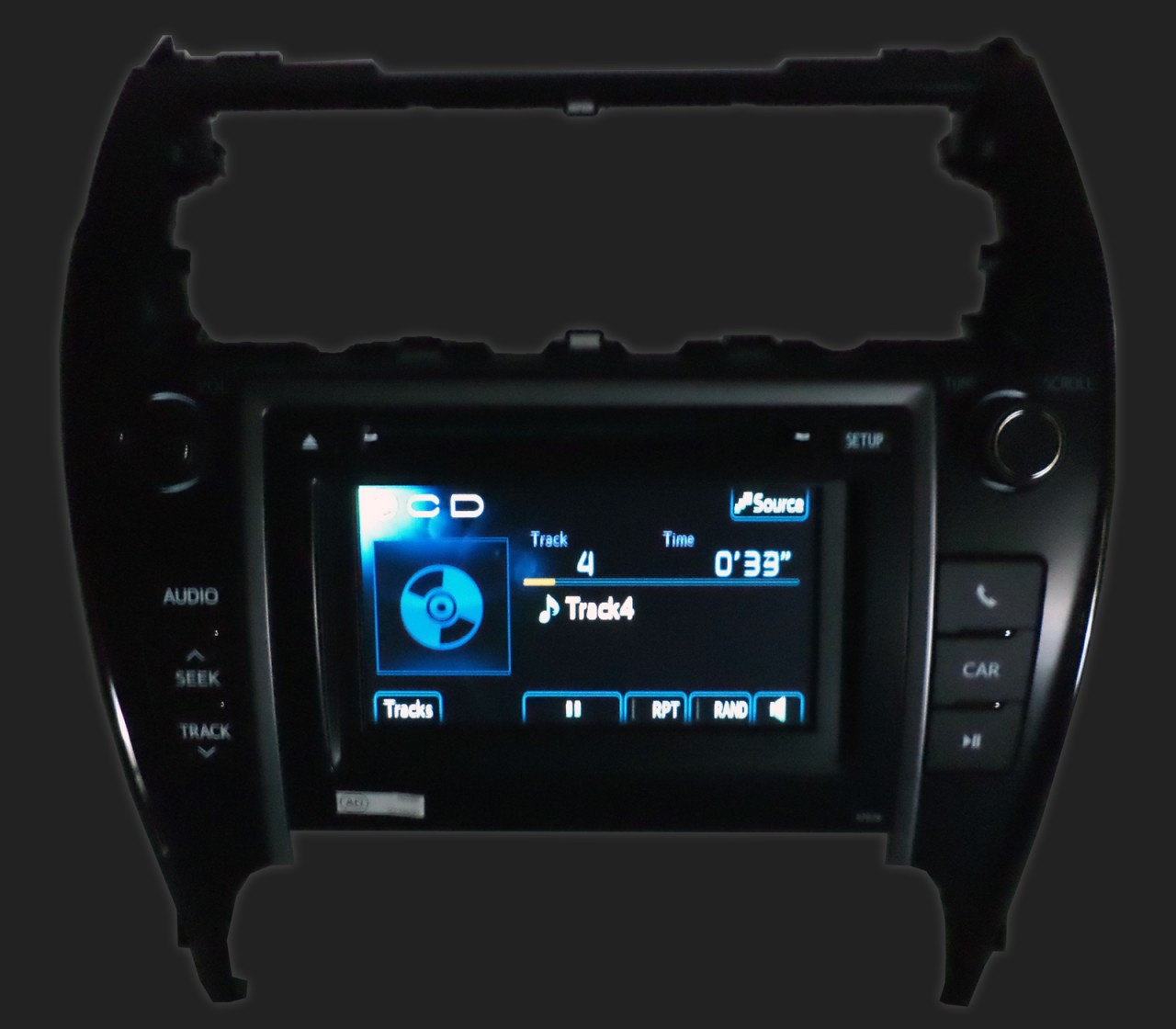 2012 2013 Toyota Camry Touch Screen Radio CD Disc Player MP3 AUX 57012