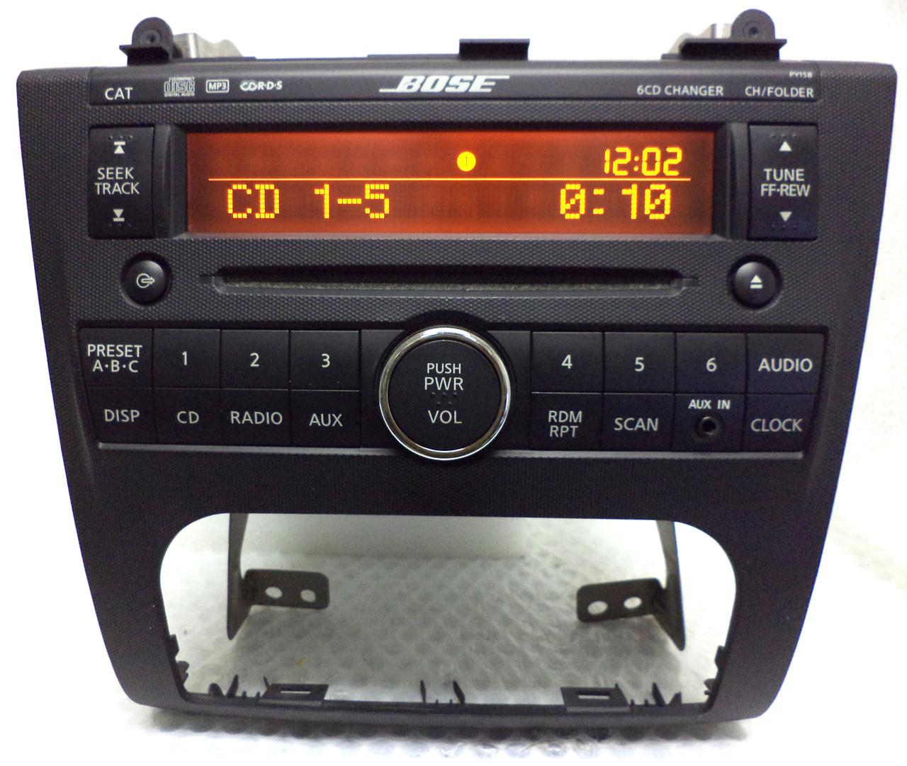 Nissan Altima Bose Speaker Replacement