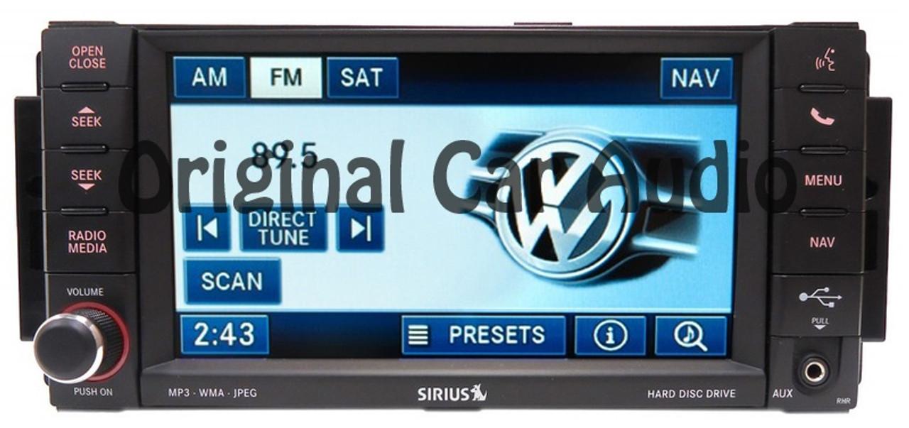 Volkswagen ROUTAN MyGig RHR High-Speed Navigation Radio