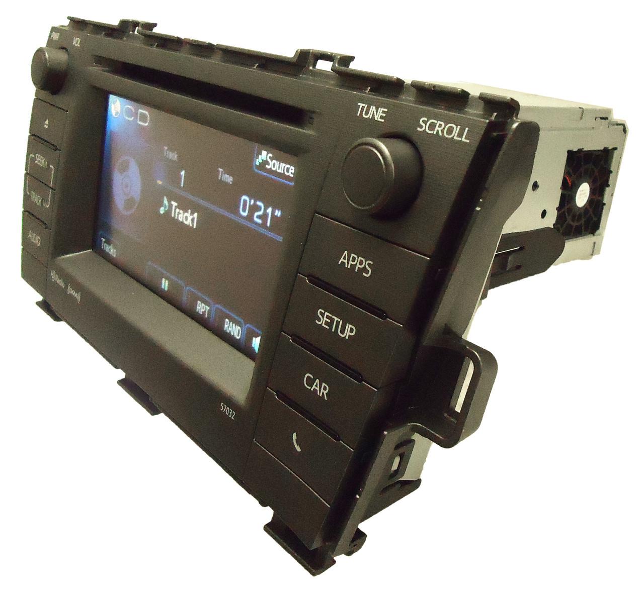 Toyota Prius 57032 Entune Radio CD Player oem