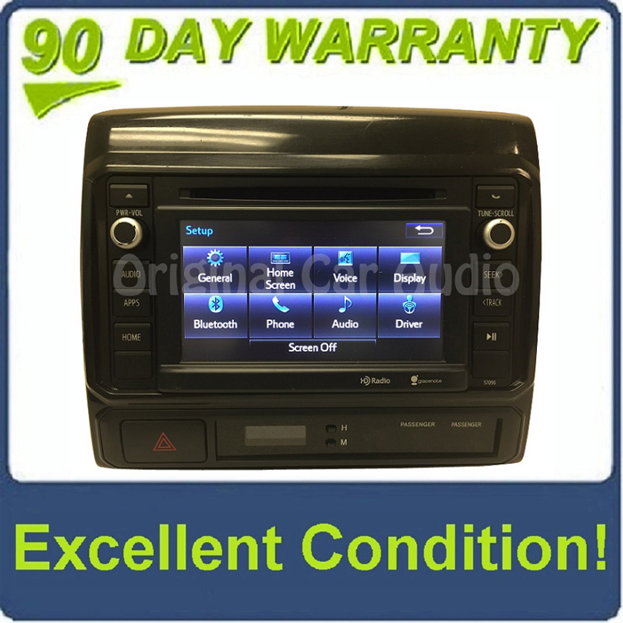 2014 2015 Toyota Tacoma OEM Entune Radio CD Player