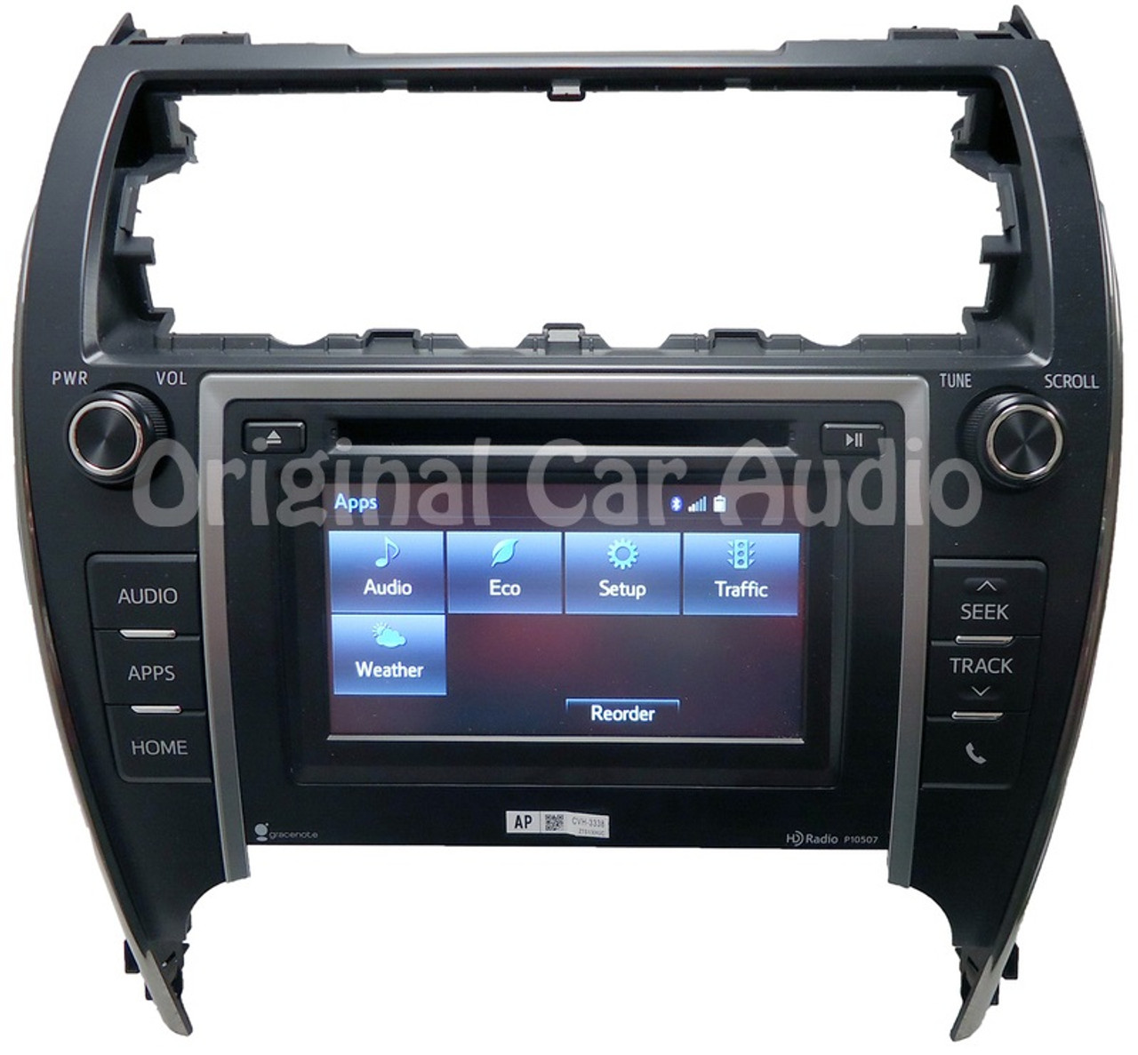 Toyota Camry Touch Screen Radio Entune CD Disc Player