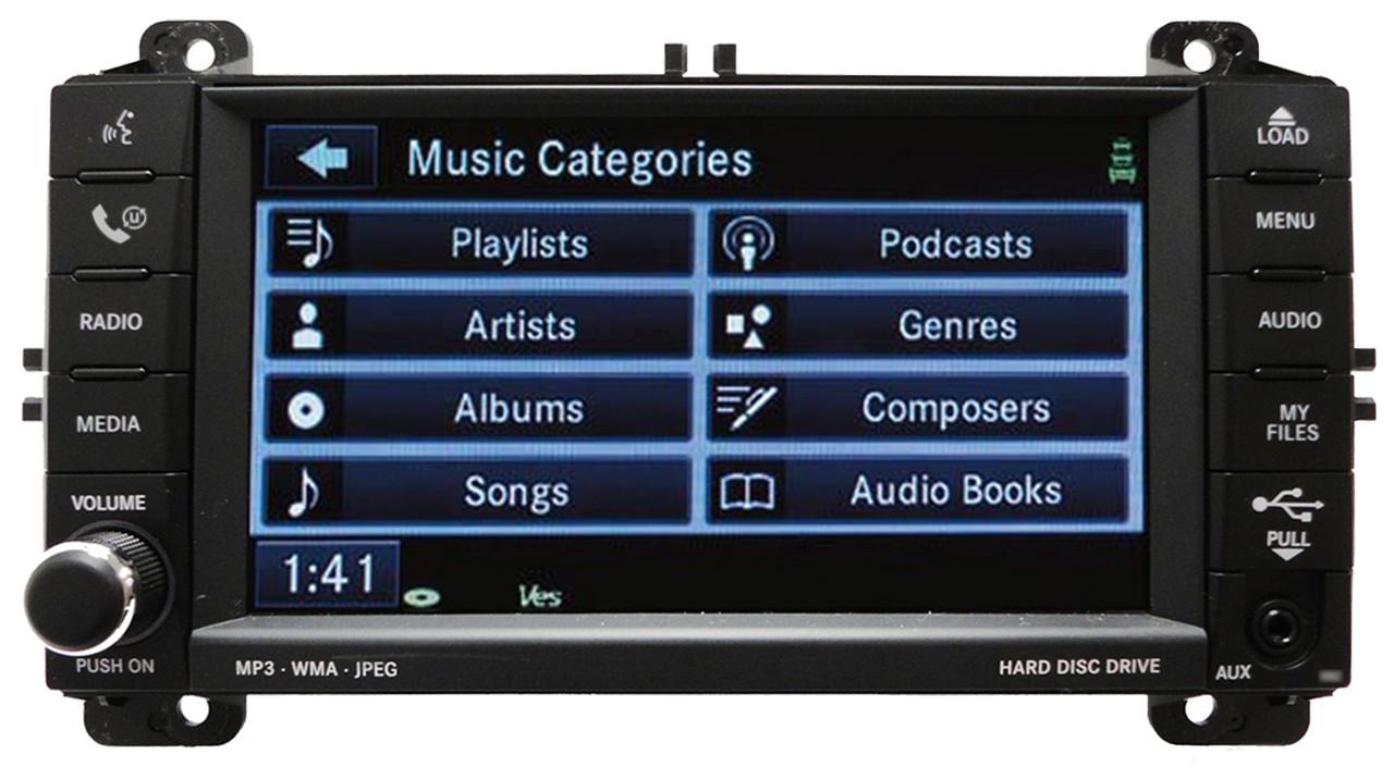 JEEP Grand Cherokee RB2 MyGig Radio Stereo CD MP3 DVD Aux Player 2011 2012  2013