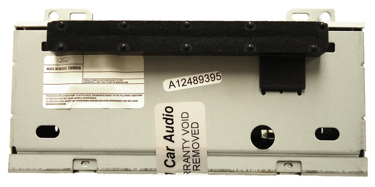 2012- 2014 Ford Focus Receiver, AM-FM satellite radio mp3 cd player single  disc
