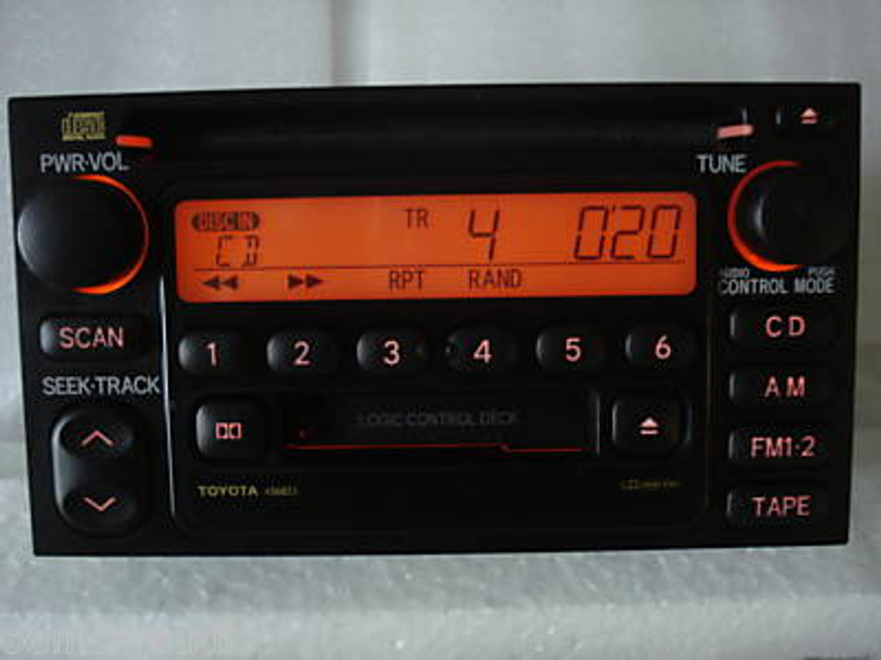 1995 - 2004 Toyota Tacoma OEM AM FM Radio Tape CD Player Receiver
