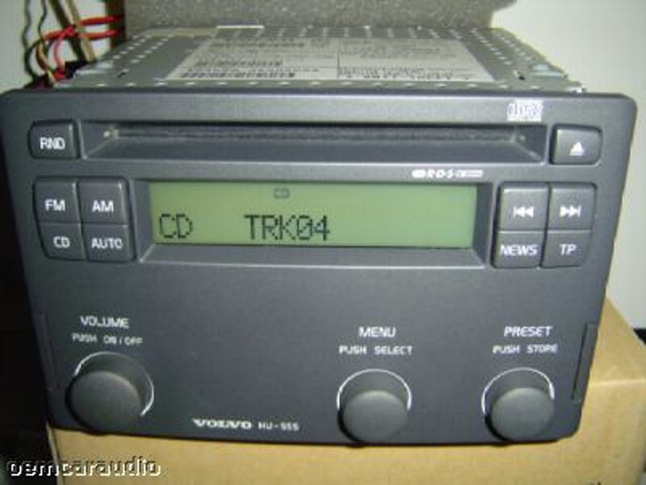 2001 - 2003 Volvo S40 V40 Radio CD Player