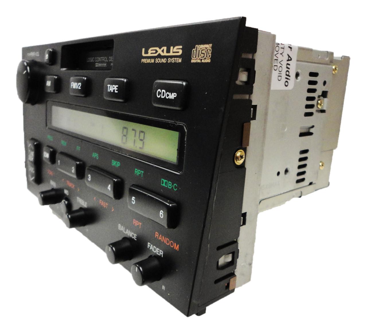 Car & Truck Interior Parts Motors 1992-1996 LEXUS ES300 AM/FM ...
