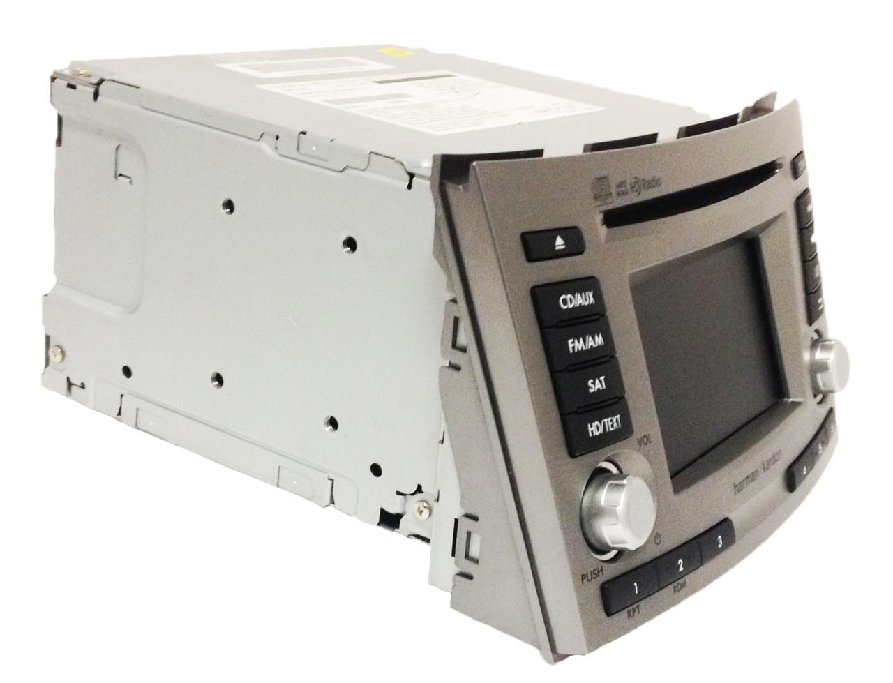 13 14 Subaru Legacy HD HARMAN KARDON Radio Satellite MP3 WMA CD Player  PE658U1