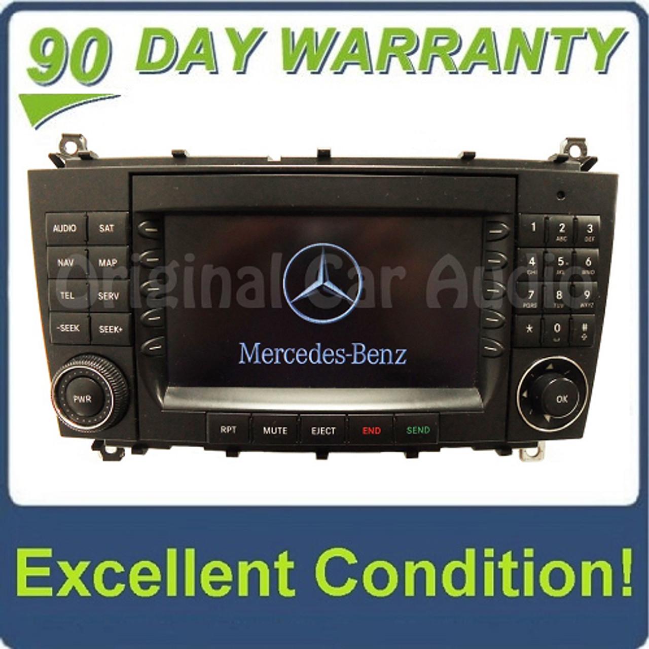 2005 2006 2007 Mercedes-Benz C Class OEM Comand Navigation Radio CD Player  TYPE 203