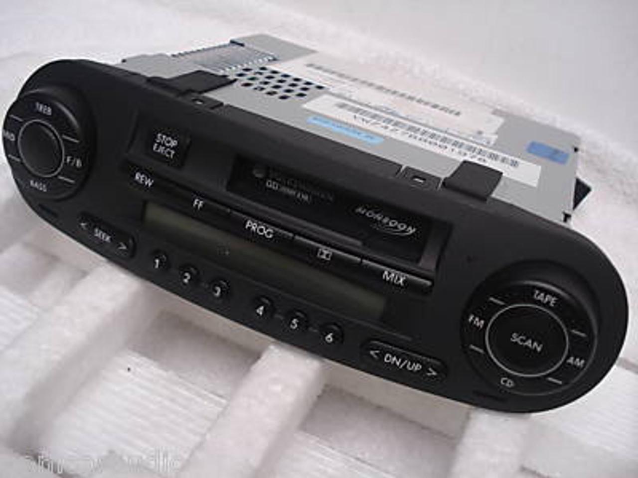 98 01 05 10 Volkswagen Beetle Fm Radio Stereo Cassette Player