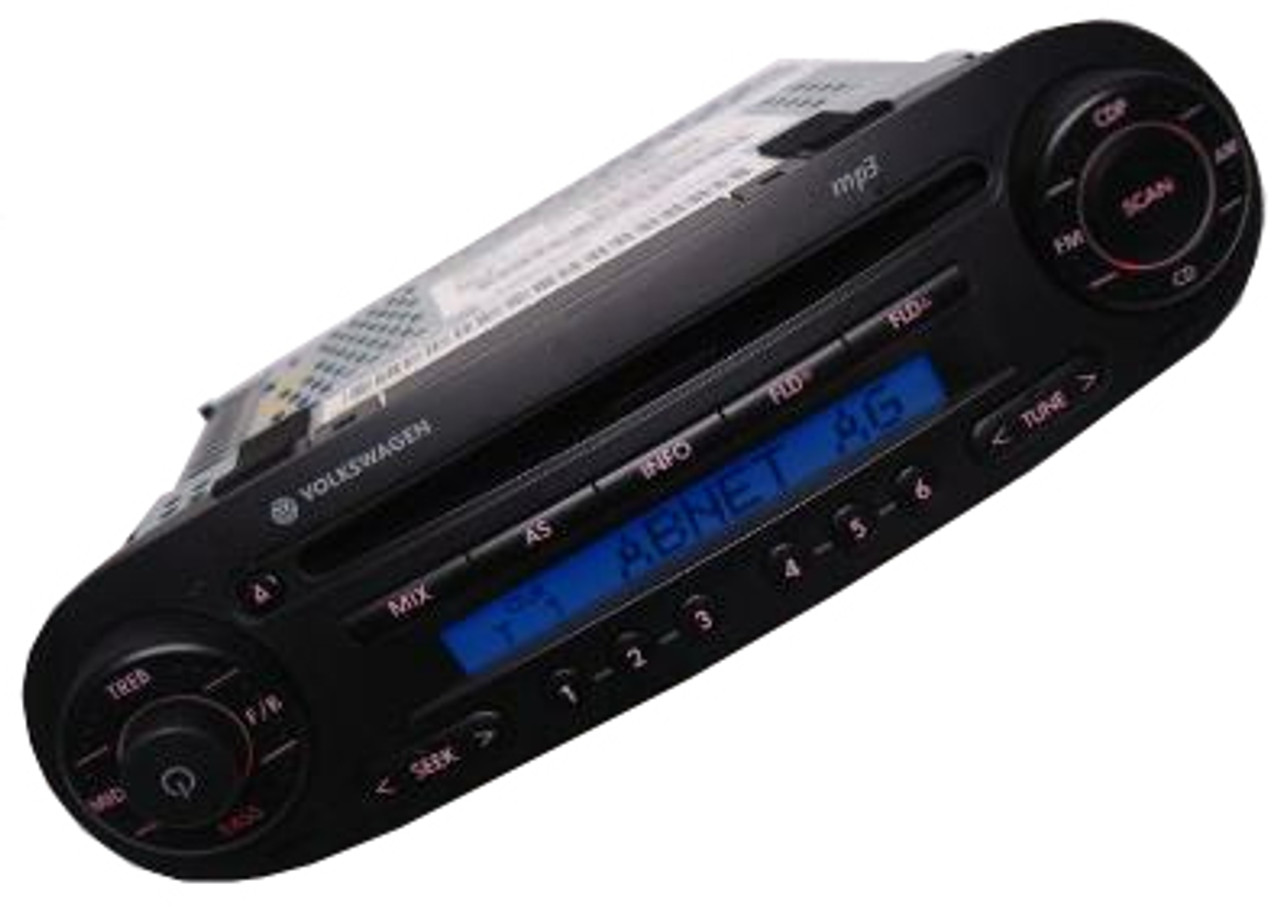 98 10 Volkswagen Beetle Fm Radio Stereo Cd Player Mp3 Player