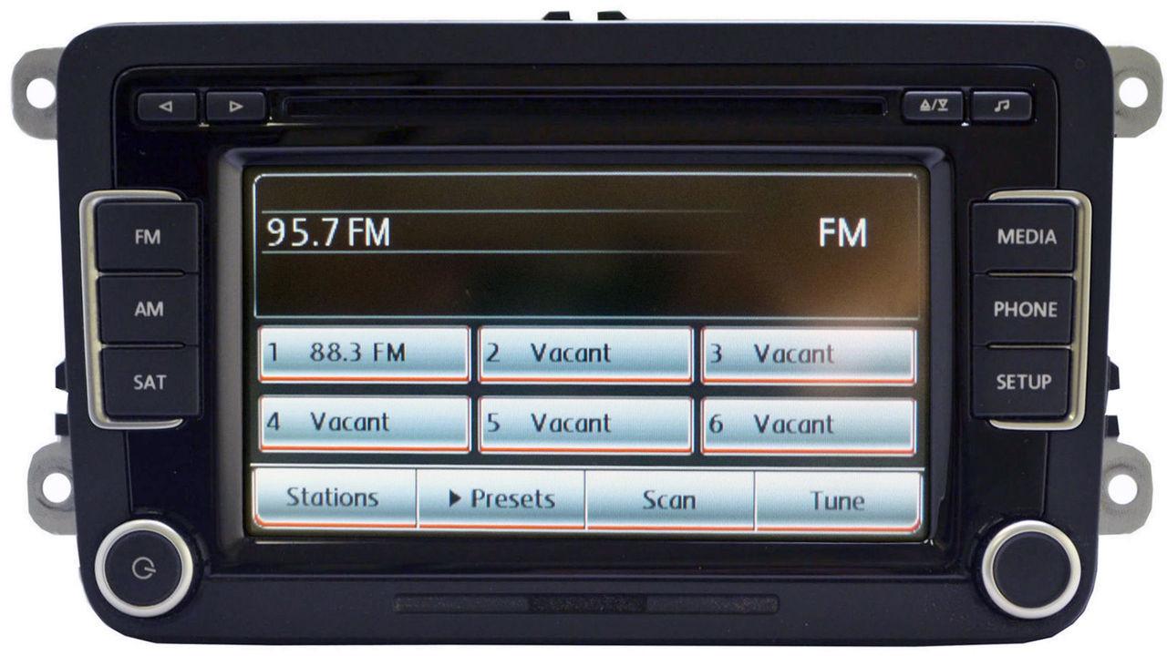 Volkswagen Touch Screen Radio 6 Disc Changer MP3 XM OEM