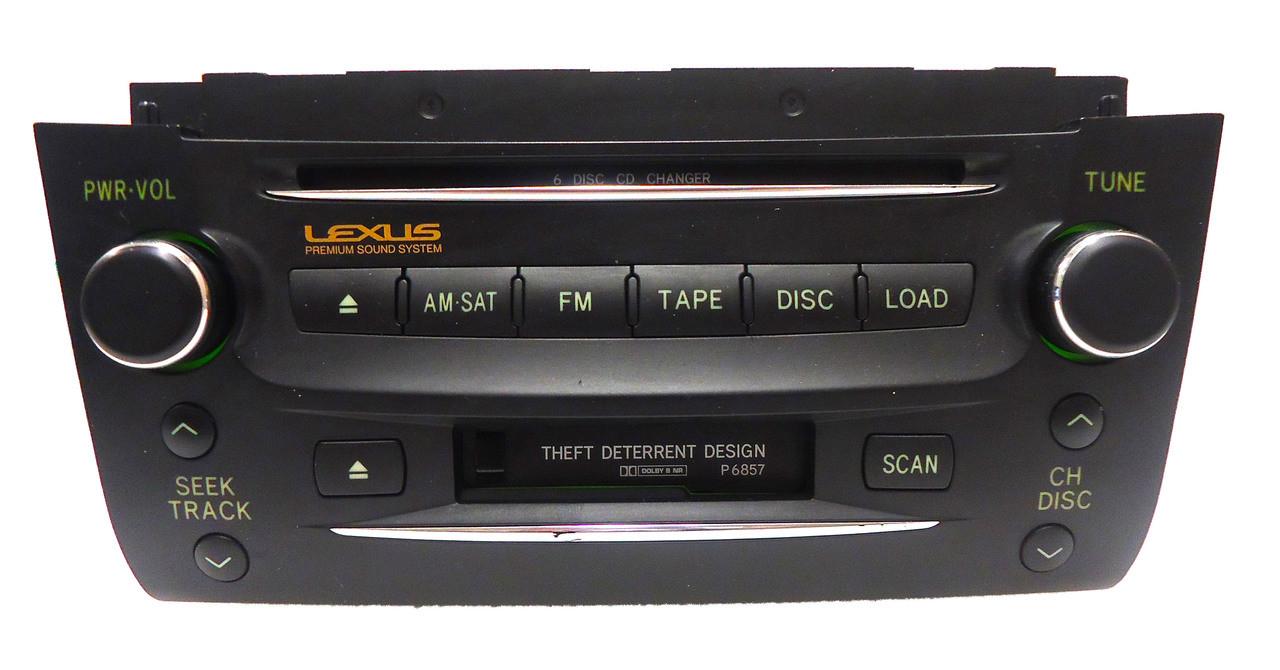 lexus gs300 radio not working