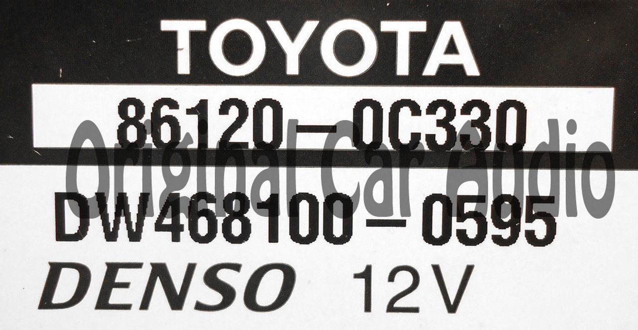 E7026 2013 2014 TOYOTA Tundra Sequoia JBL Navigation GPS CD Player HD  Gracenote Bluetooth Satellite AM FM