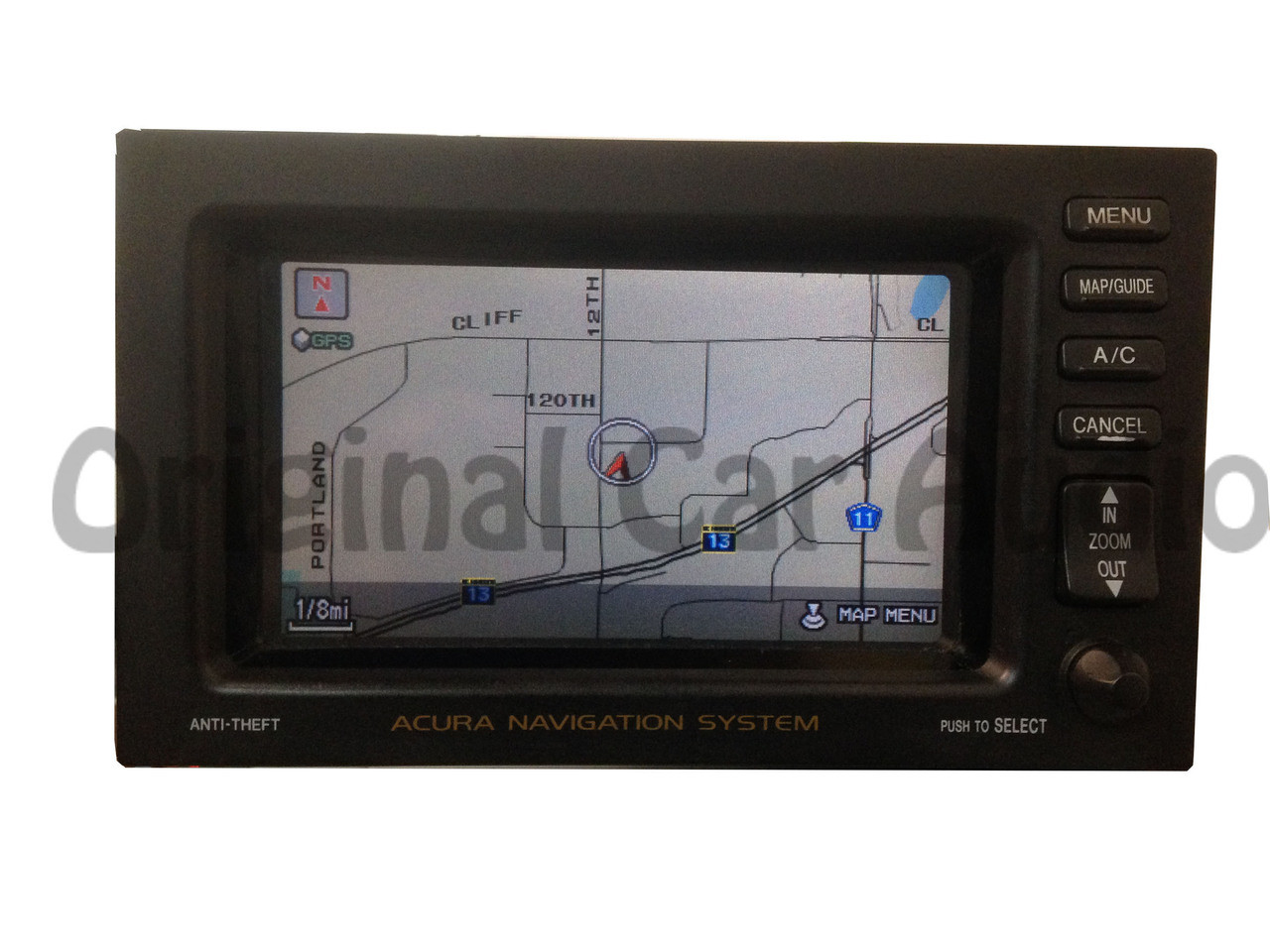 2000 01 02 03 acura cl tl navigation lcd screen gps monitor