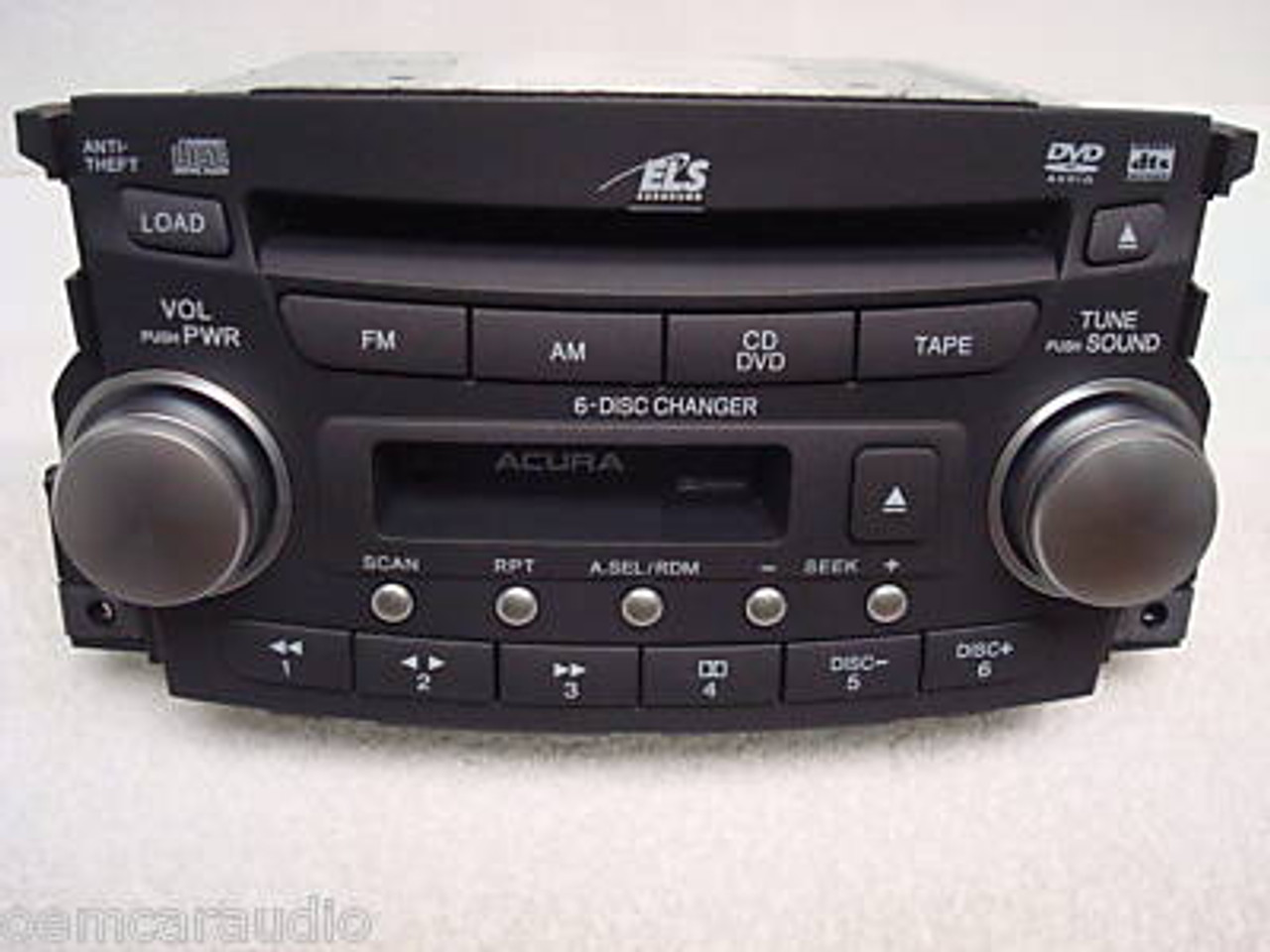 1tb3 2004 2005 2006 Acura Tl Stereo 6 Cd Player Cassette