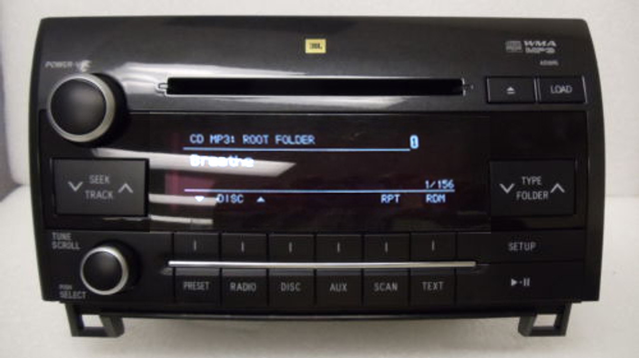 NEW TOYOTA Tundra Sequoia JBL Radio Stereo 6 Disc Changer MP3 CD Player  A51895