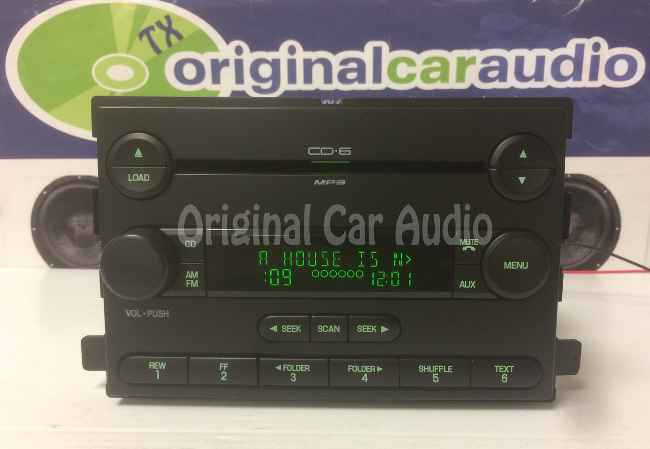 2007 ford focus car stereo