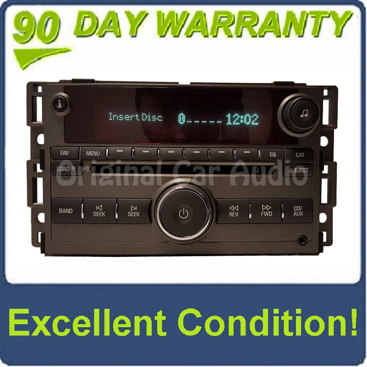 Pontiac Solstice radio 6 disc CD changer MP3 aux stereo OEM