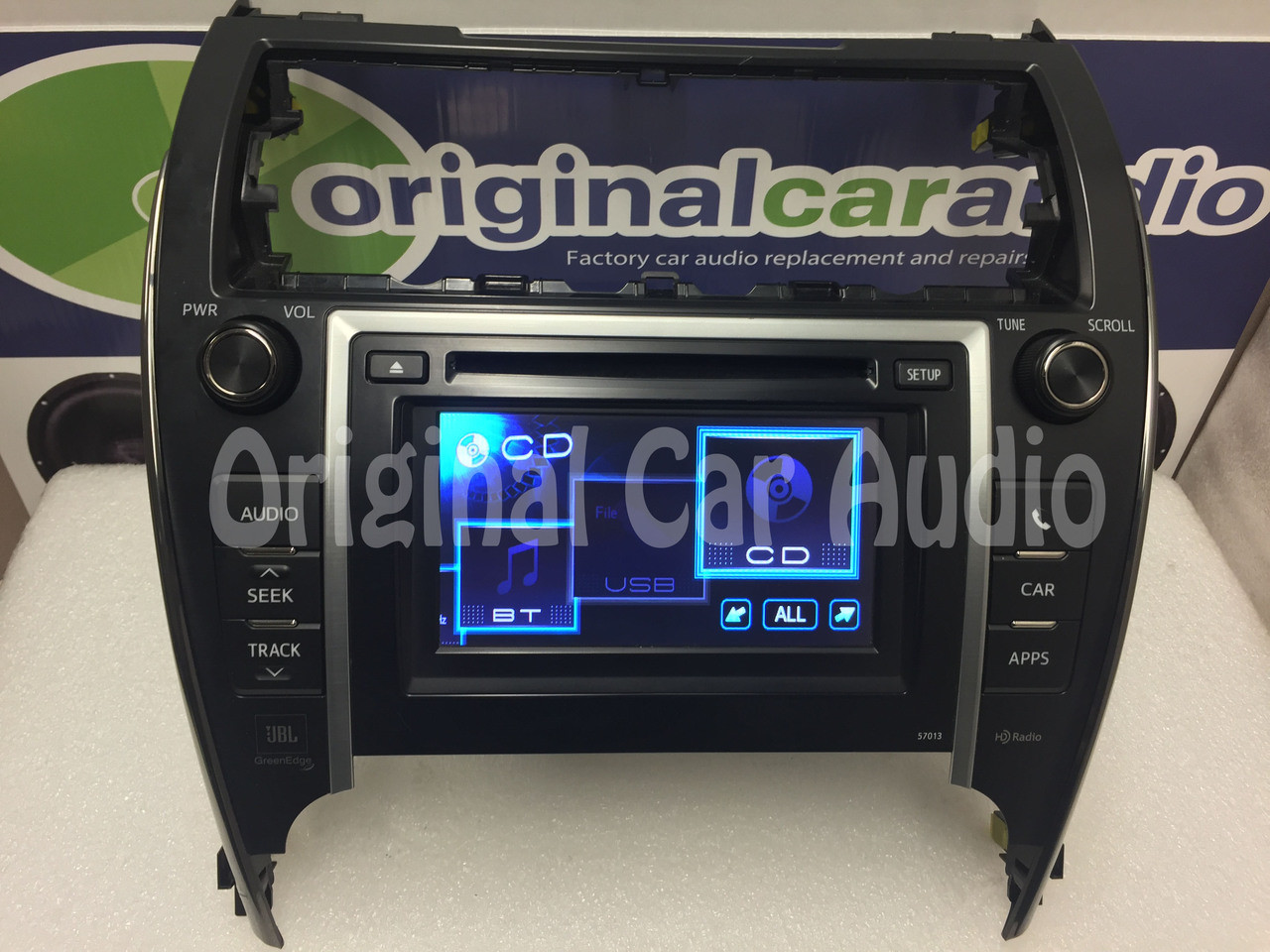 12 13 Toyota CAMRY Touch Screen Display LCD Radio MP3 XM CD Changer Player  57013