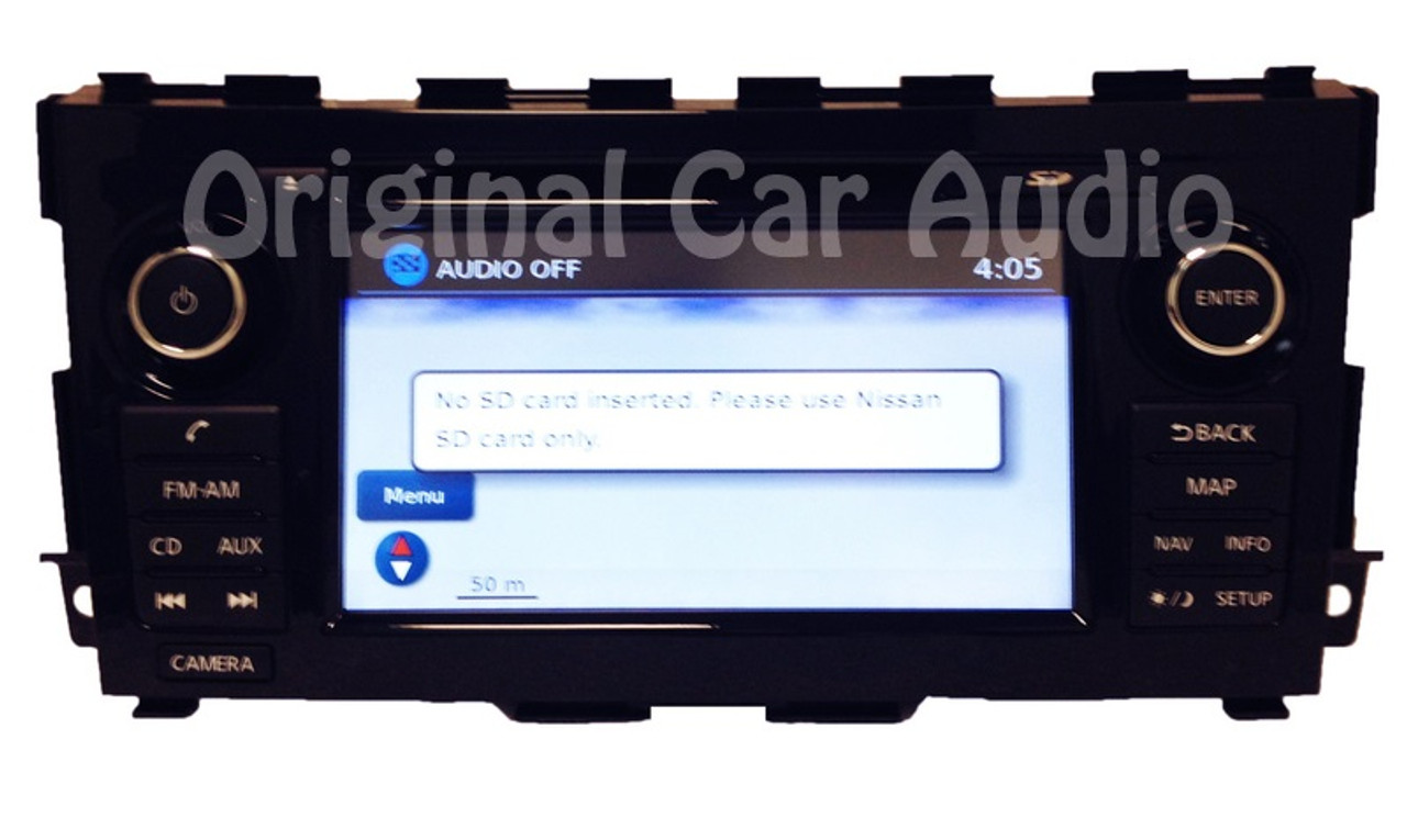 CD MP3 radio with Aux Input NEW factory stereo for Nissan Altima 2013-2015