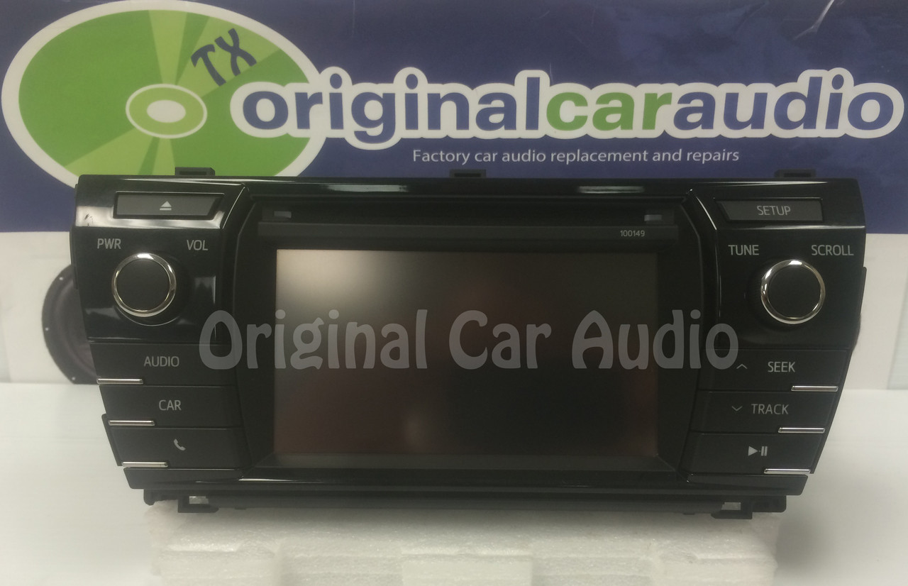 2015 toyota corolla satellite radio
