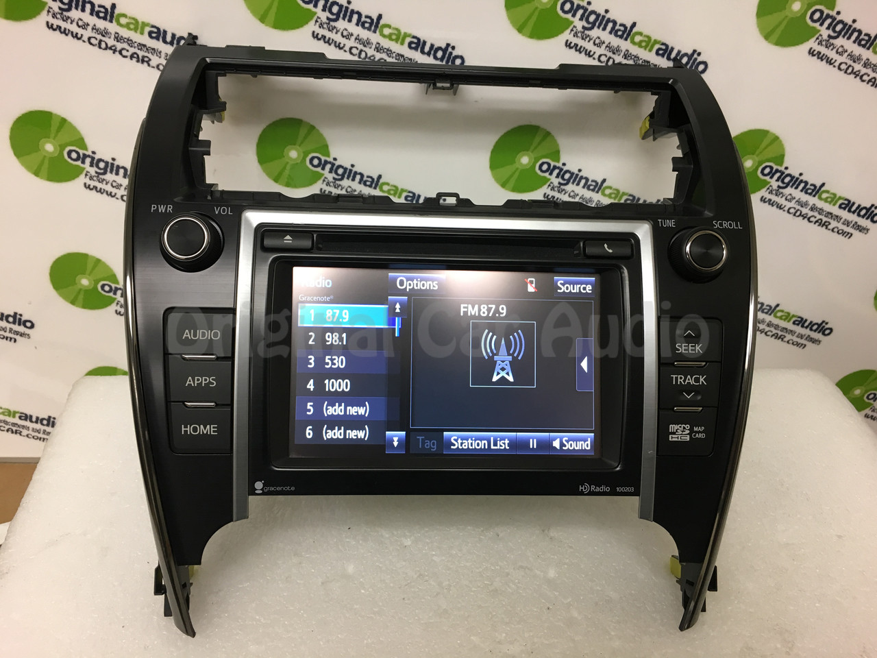 2012 toyota camry navigation add on
