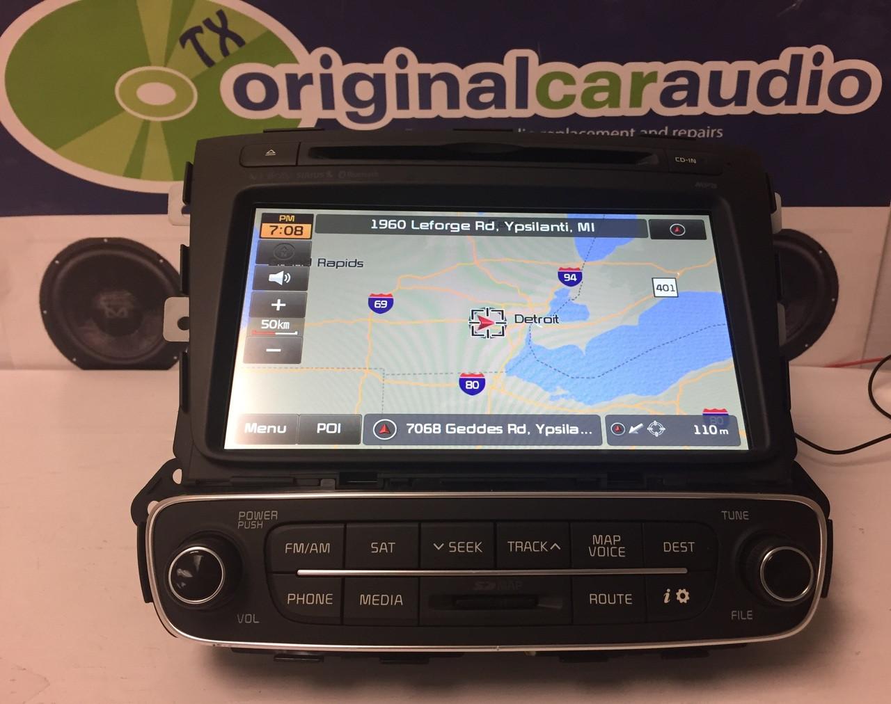 2016 kia sorento oem navigation system