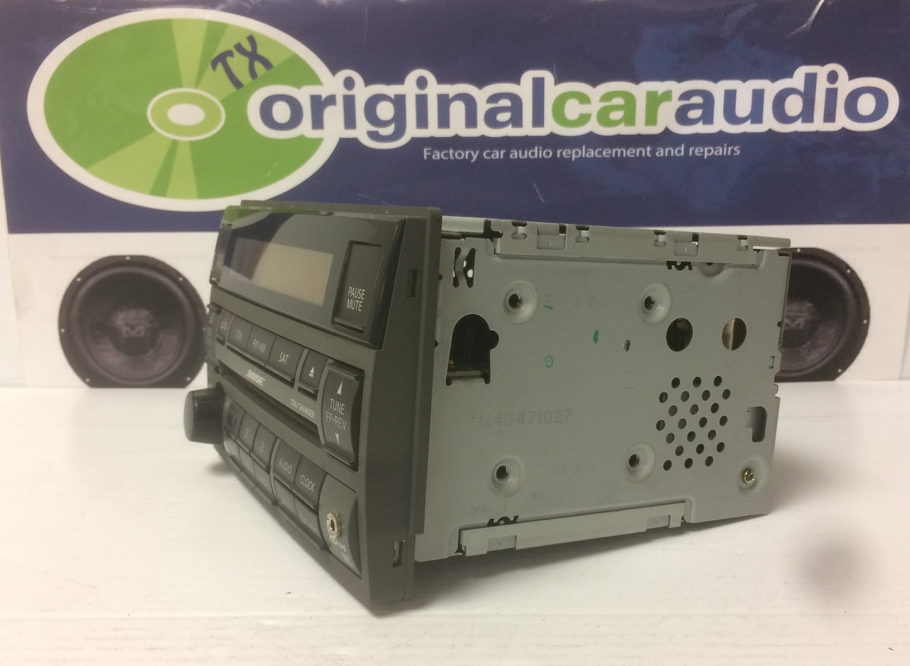2005 2006 Nissan Altima Bose Radio & CD player Bose with AUX port