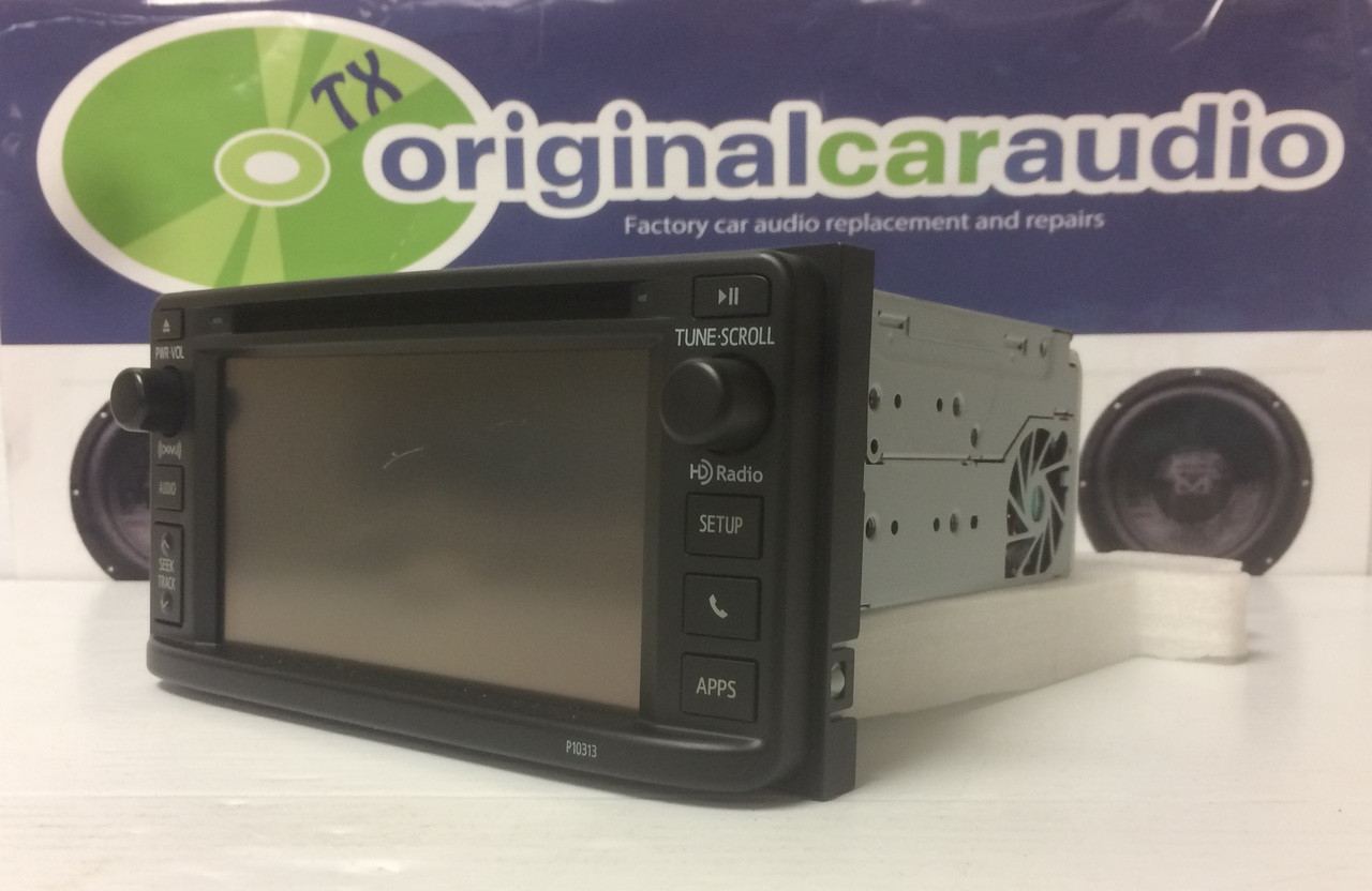 2012 2013 2014 Toyota Corolla OEM Radio CD Player Display Receiver