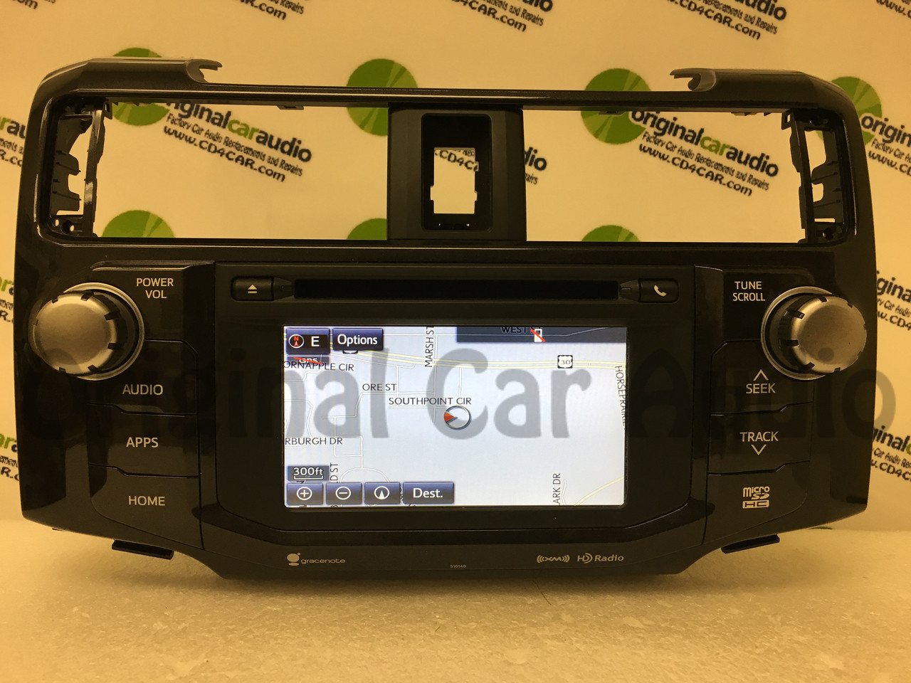 REPAIR 2014 - 2016 Toyota 4Runner Gracenote Entune Navigation Touch Screen  Radio