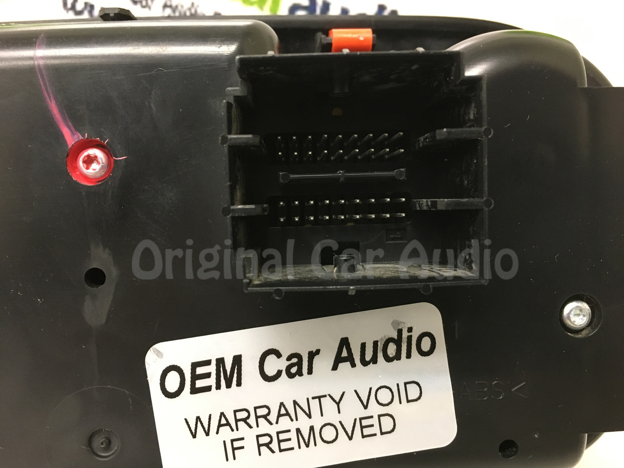 2012 - 2016 Dodge Dart OEM Radio Climate Control Panel ONLY