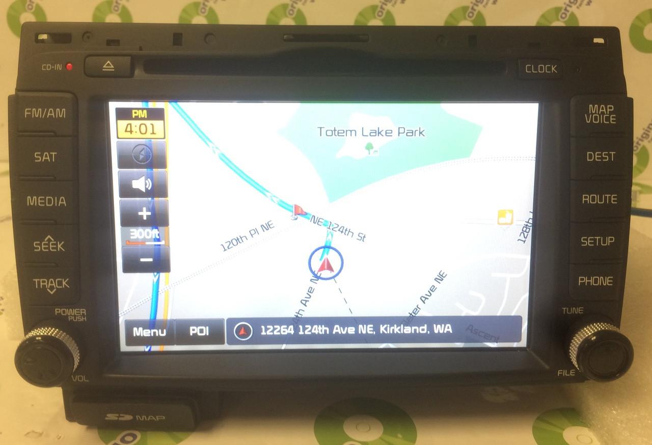 2015 Kia Sportage OEM Navigation AM FM Radio SD Card CD Player Receiver