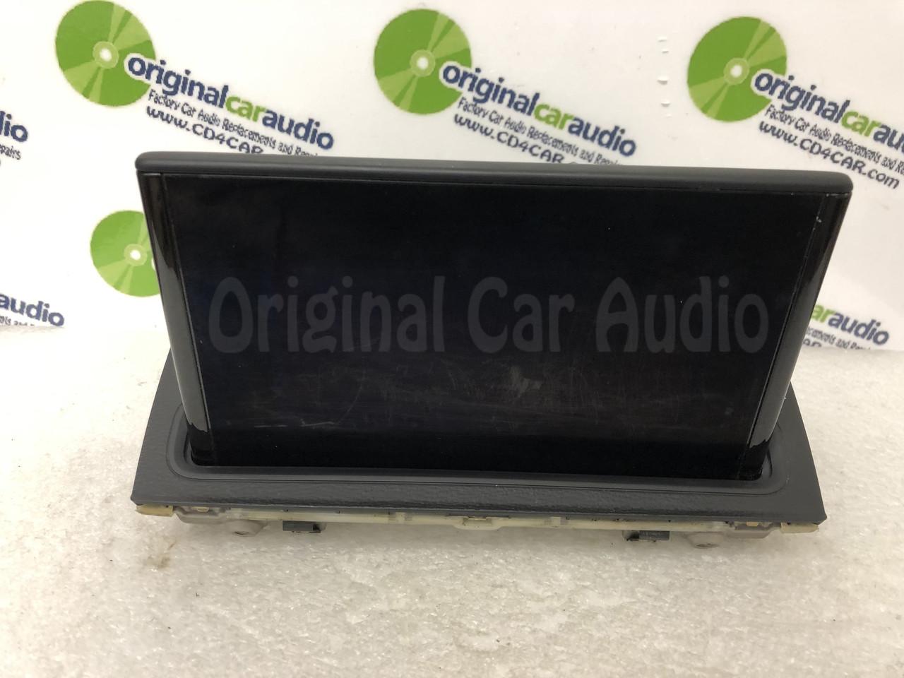2015 - 2016 Audi A3 OEM Radio MMI Multimedia Information Display Screen  Monitor