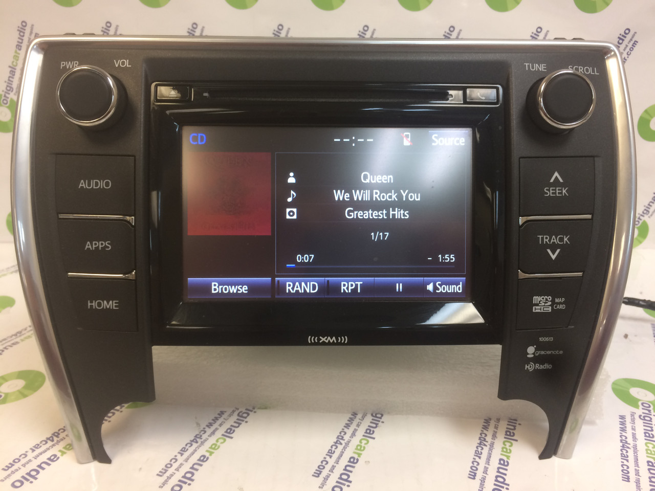 2015 - 2017 Toyota Camry OEM Gracenote Touch Screen Display AM FM Radio  Receiver 100613