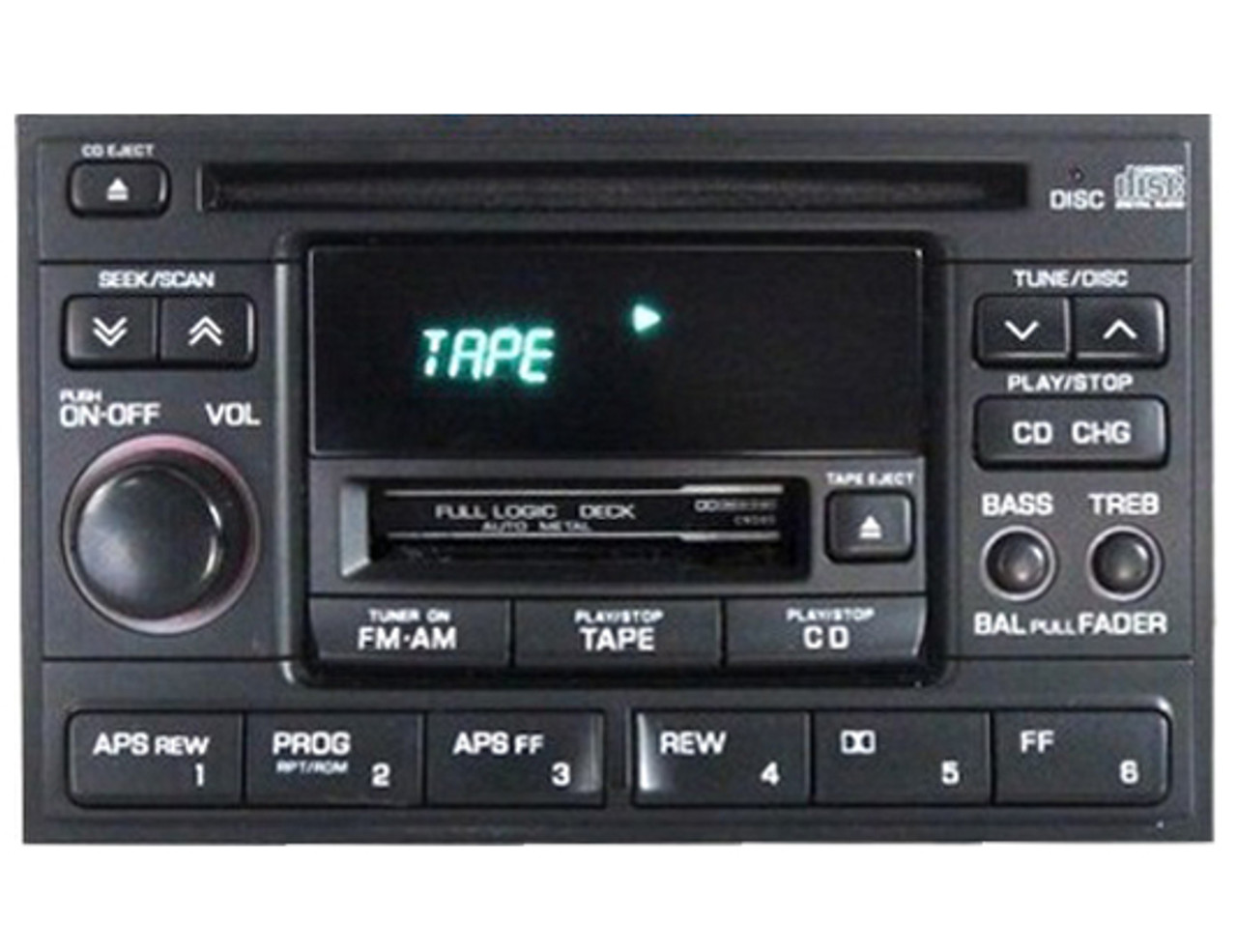 ni175u 97 98 nissan maxima radio cd and tape player