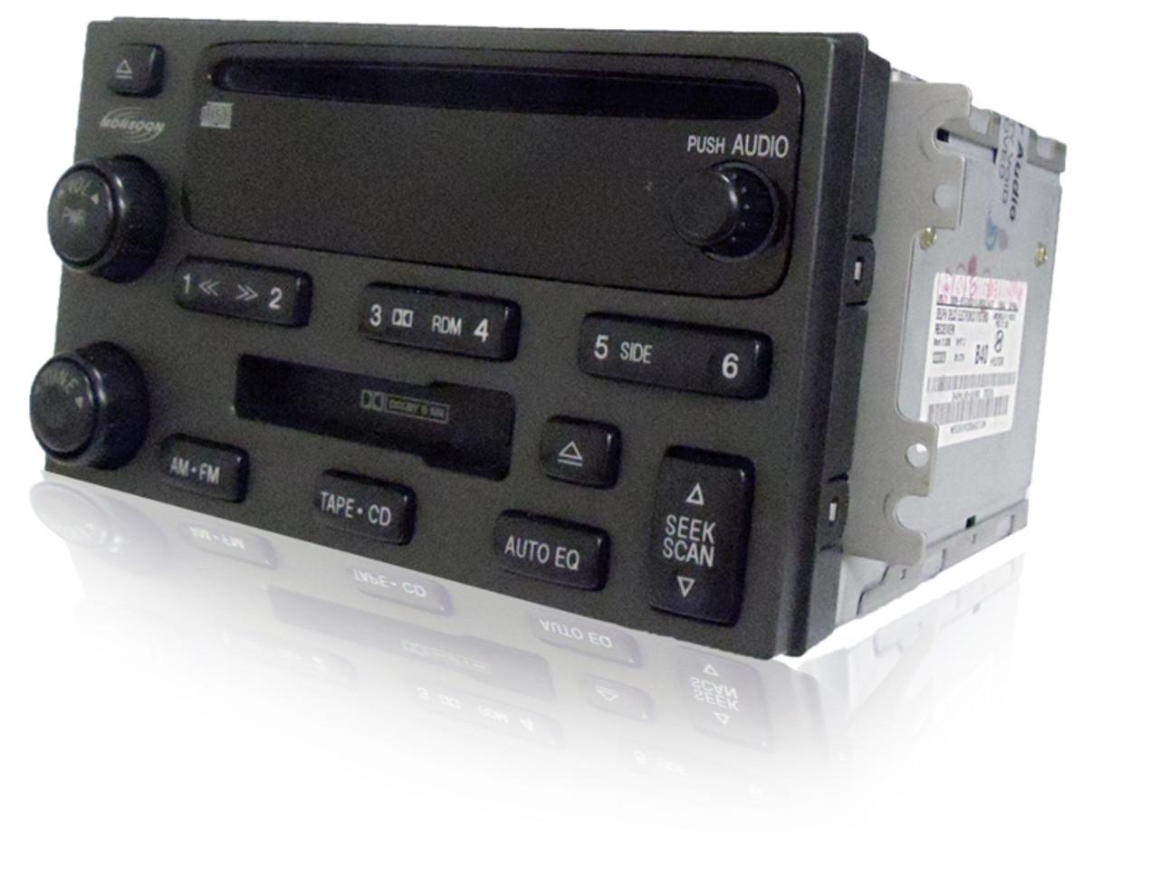 03 05 06 Santa Fe Radio Cd Cassette Cd Player 6 Cd Changer