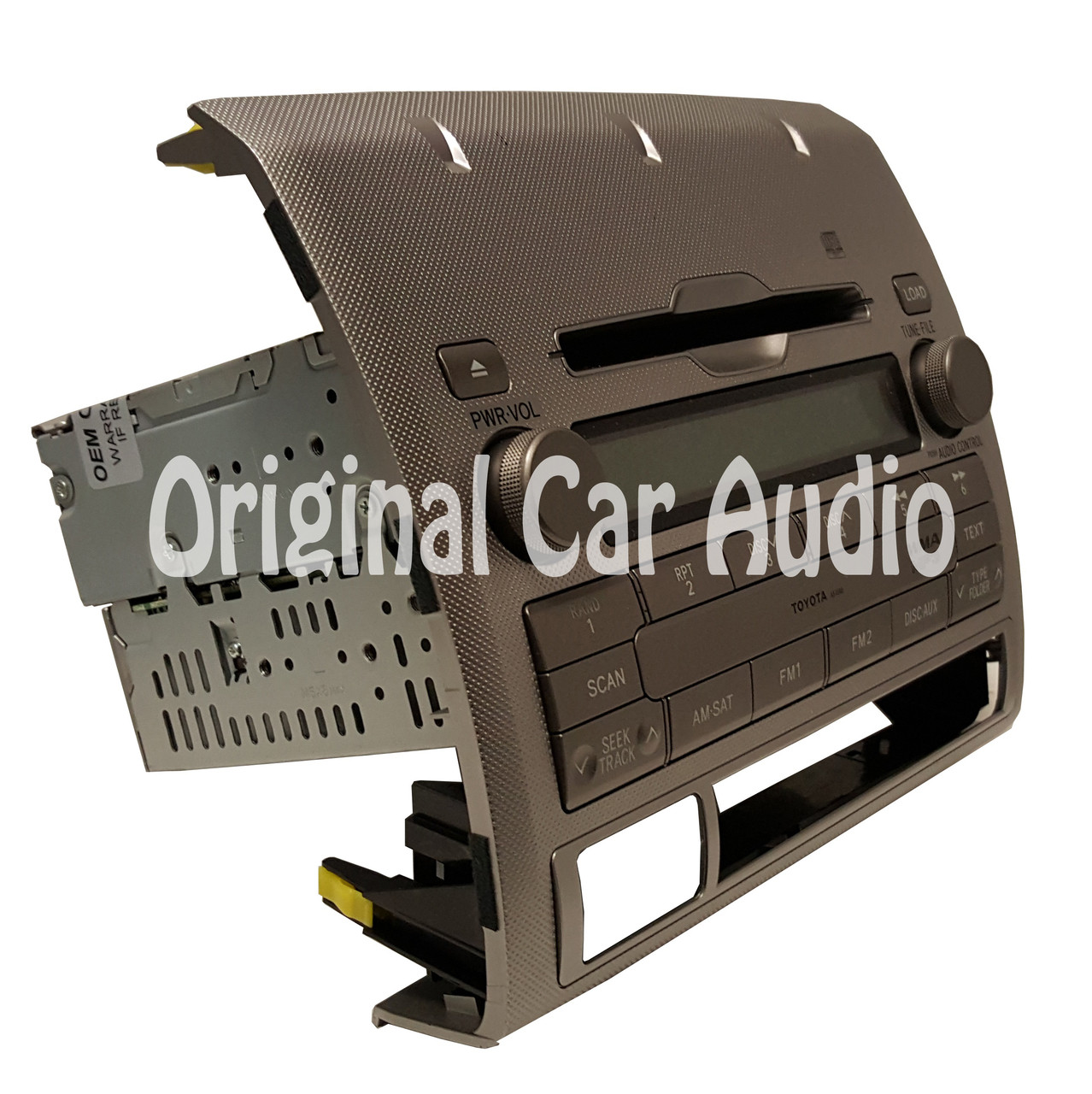 Toyota Tacoma OEM Satellite Radio Bluetooth MP3 CD Player 86120-04200 A518A8