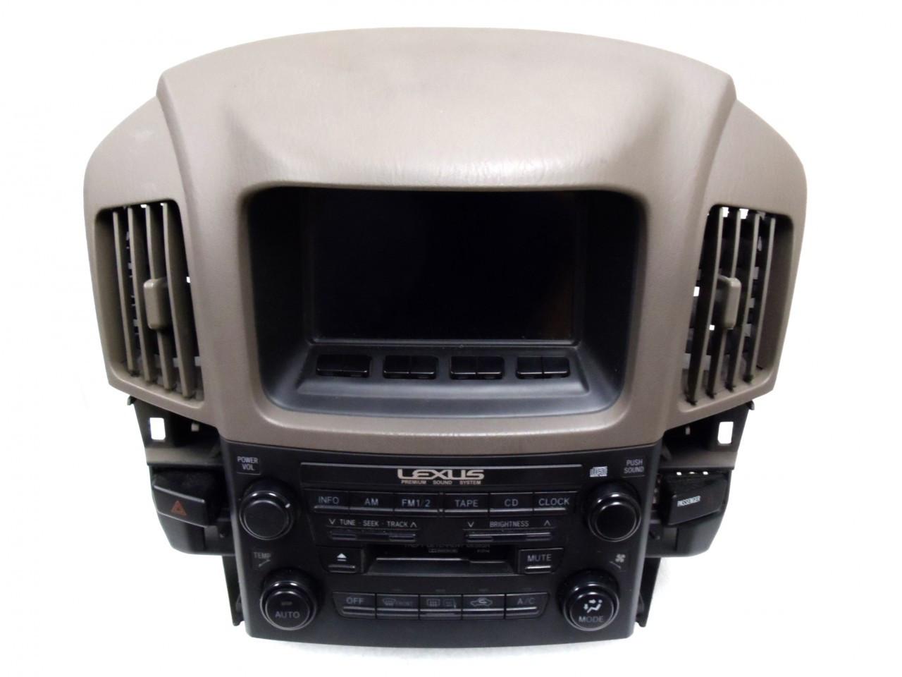LEXUS RX300 Premium Sound System Radio Stereo Tape Player Climate Controls  P1714 1999 2000 2001 2002 2003